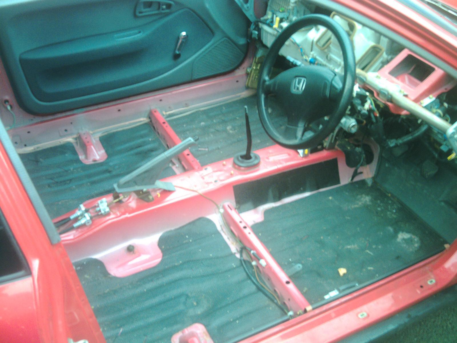 Honda Civic Rally Car