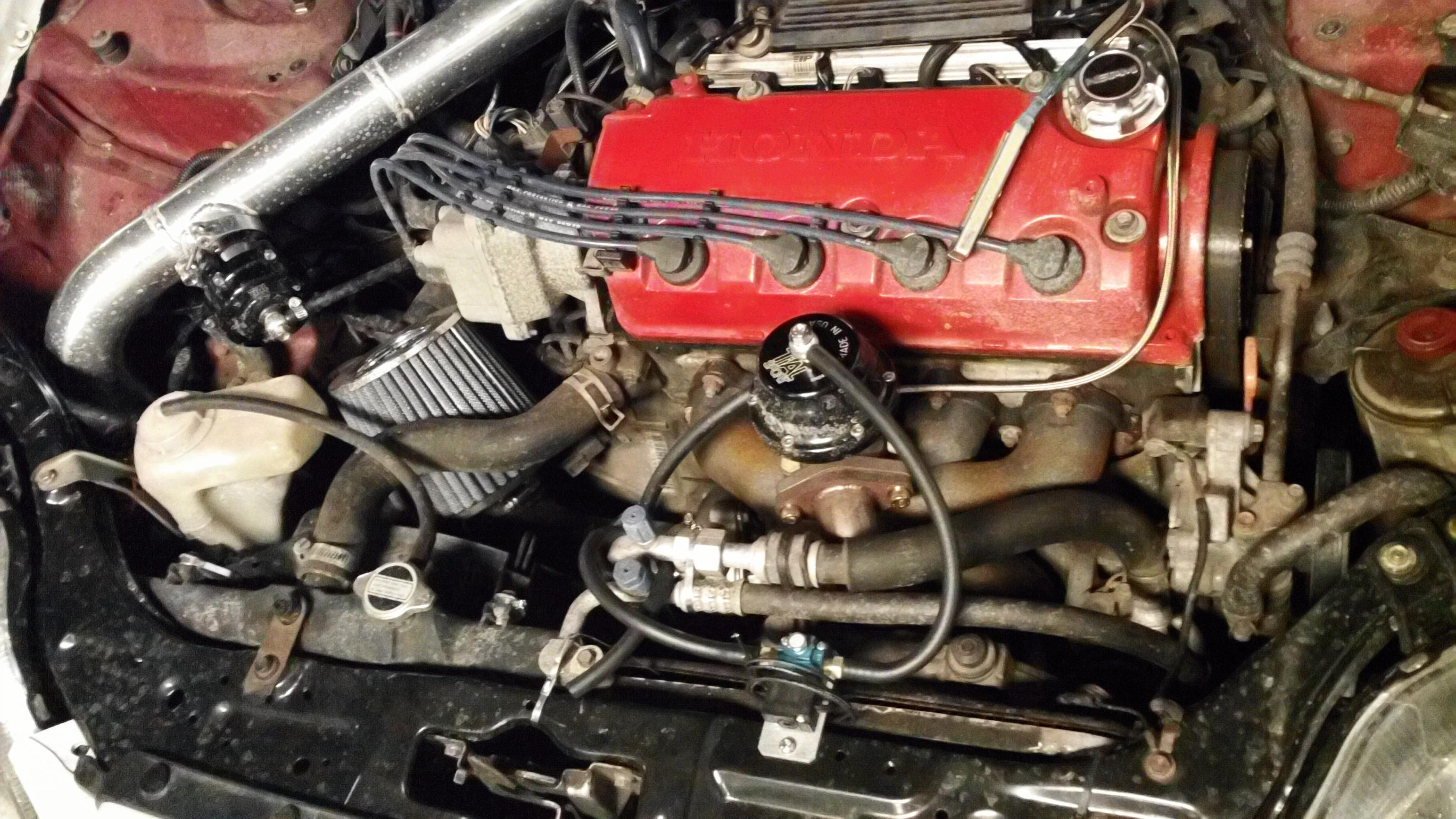 my d16y8 turbo build - d-series