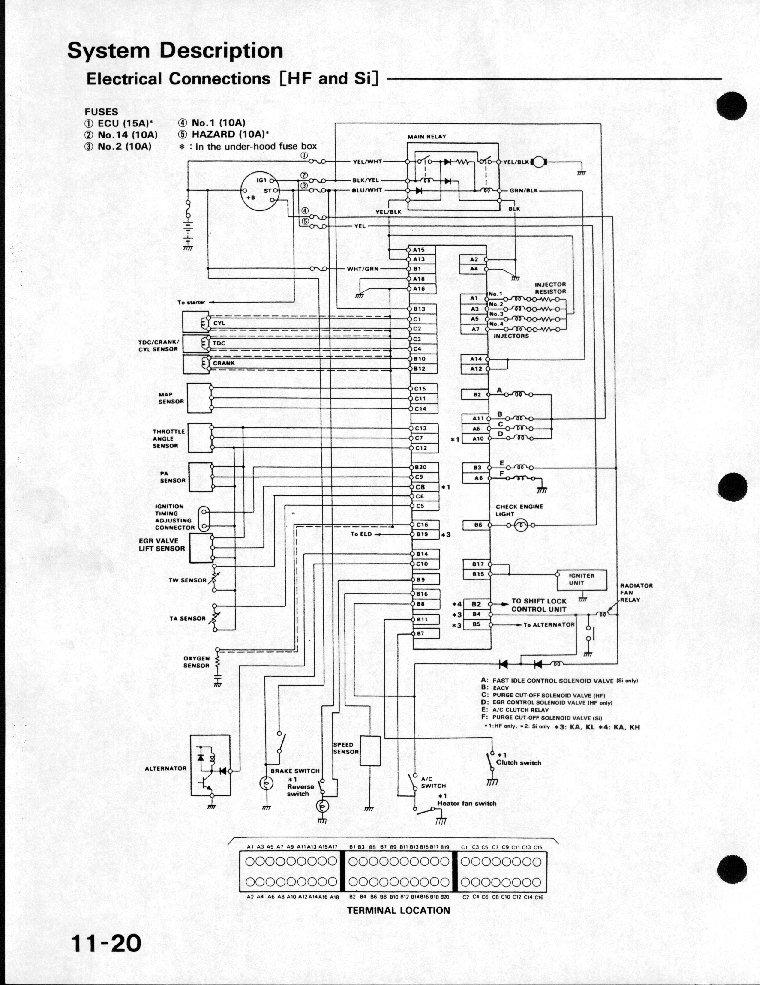 Honda Civic Ecu ...Obd2b To Obd1 Distributor Wiring Diagram