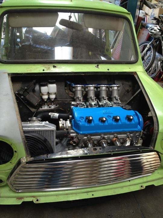 D16z6 Mini Cooper build - D-series org
