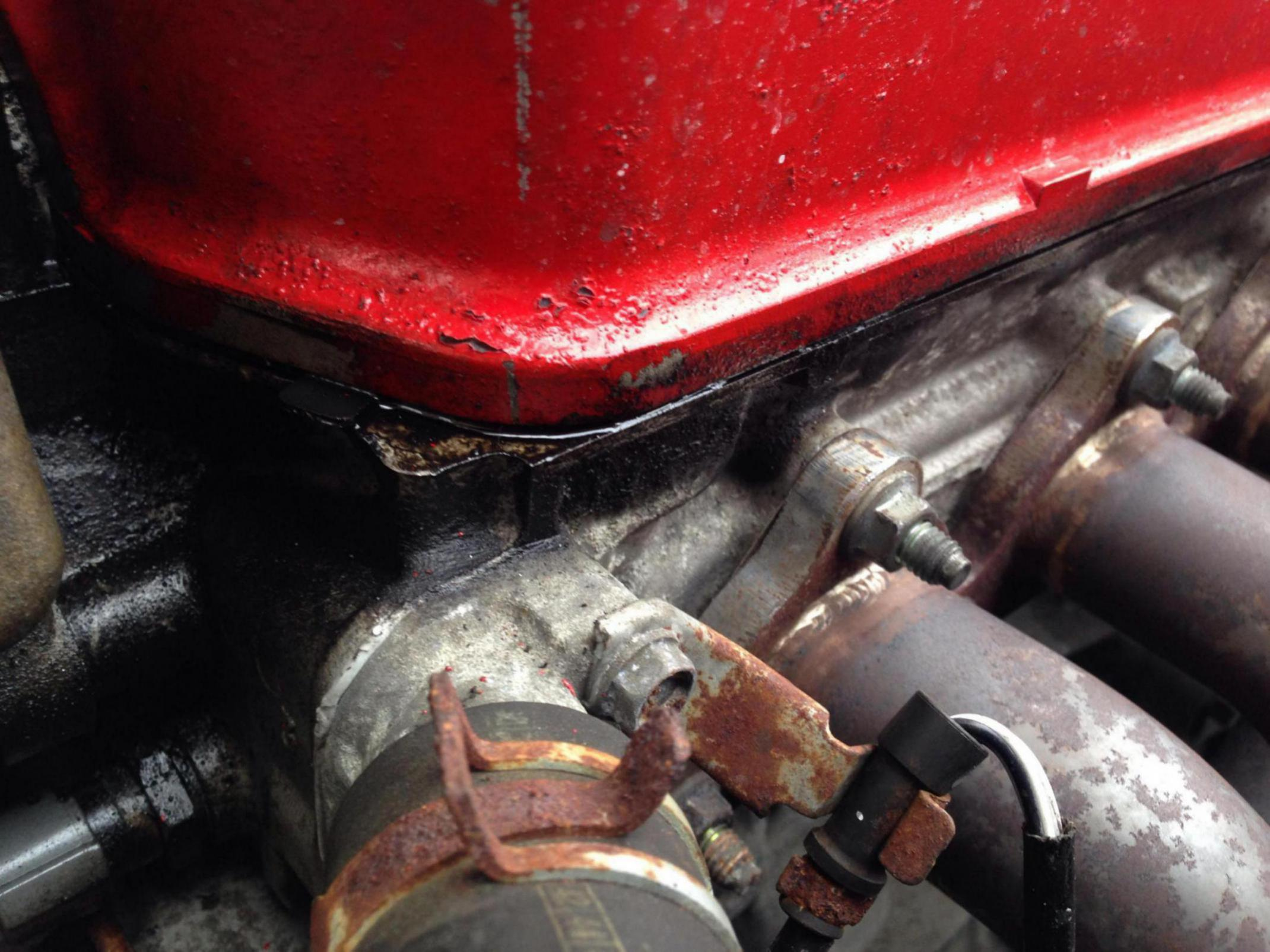 Replaced Rocker Cover Gasket Seal And Still Leaking 1999 Honda Accord Valve Click Image For Larger Version Name 1421074686245 Views 429 Size 3032