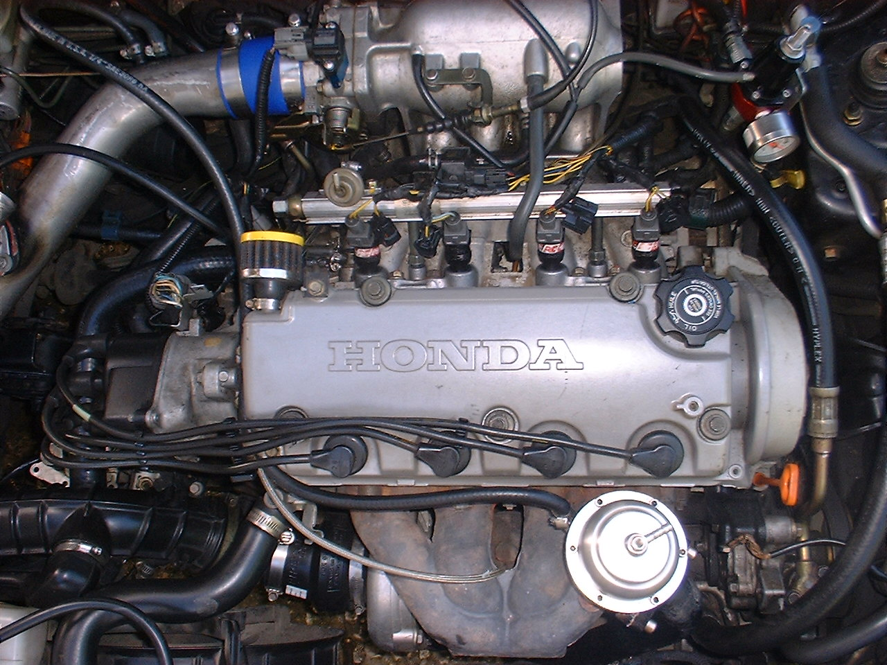 1996 Honda civic ex turbo