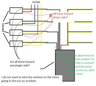Dsm 450cc Injector and Resistor box HELP!   Honda D Series ForumD-Series.org